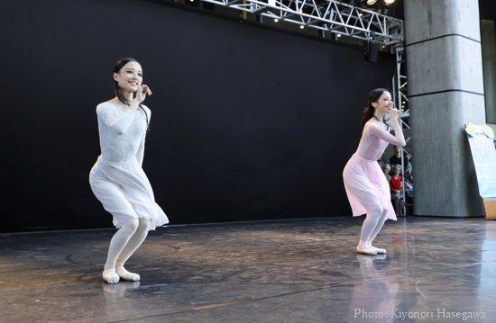 55330d02dcc25 木村和夫振付 「ハミング・バード」 出演:秋山瑛、足立真里亜